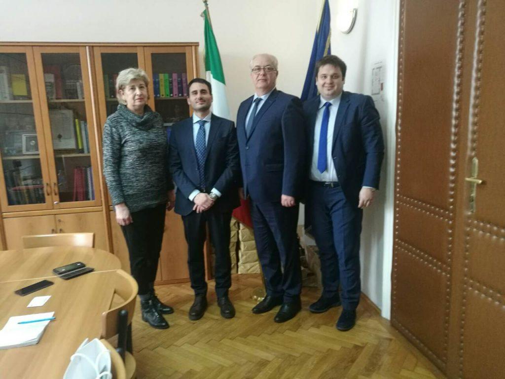 Podrška Ambasade Republike Italije sajmu Timod EXPO 2020