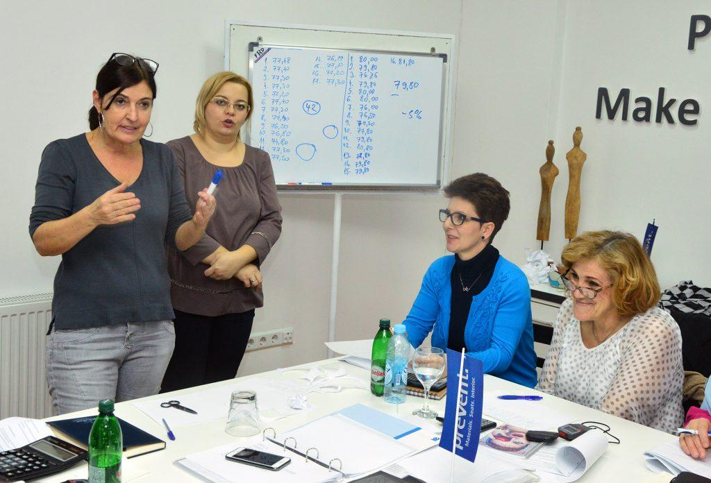 U Travniku u toku seminar o snimanju tehnoloških vremena u modnoj industriji